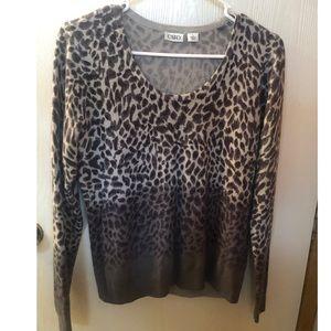 Super soft cheetah long sleeve.